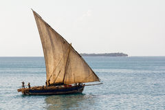Dhow transport Royalty Free Stock Photography