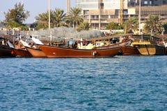 Dhowfartyg Royaltyfri Foto