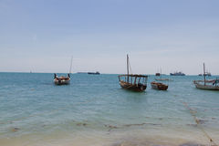 Dhows Stock Image