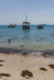 Dhows Royalty Free Stock Image