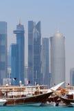 Dhows, Doha, Qatar Royalty Free Stock Photography