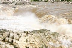 Dhuandhar fall in monsoon season, Jabalpur Stock Photography