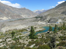 Dhumba lake, Nepal Royalty Free Stock Photography