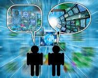 diálogo Imagem de Stock