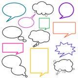Diálogo ilustración del vector
