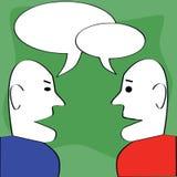 Diálogo Imagens de Stock