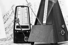 Diálogo del metrónomo Fotografía de archivo libre de regalías