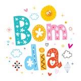 Diámetro de Bom - buena mañana en portugués Fotografía de archivo libre de regalías