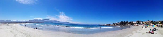 Diámetro de playa fotos de archivo