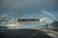 Diâmetro de alta velocidade ocidental, estrada Fotografia de Stock Royalty Free
