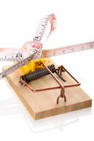 Diät-Falle Lizenzfreie Stockbilder