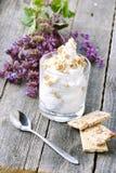 Diät mit selbst gemachter Creme Lizenzfreies Stockfoto