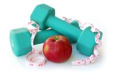 Diät und Übung Stockbilder