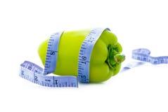 Diät und Gemüse Stockbild