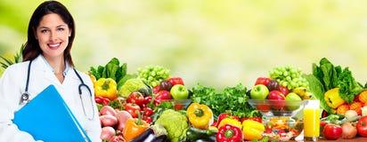 Diät und Gesundheitswesen lizenzfreie stockbilder
