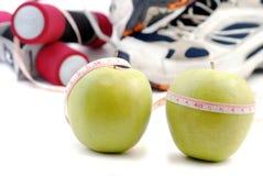 Diät und Sport Lizenzfreie Stockfotografie