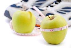 Diät und Sport Stockfotografie
