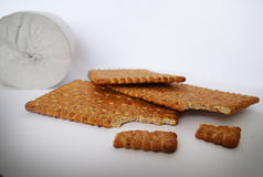 Diätcracker lizenzfreie stockbilder