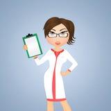Diätetikerfrau Lizenzfreies Stockfoto