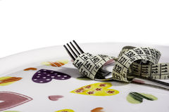 Diätkonzeptbild lizenzfreies stockfoto