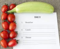 Diätpläne, Gesundheit begrifflich Stockfotografie