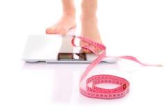 Diätresultate Stockbilder