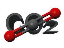 Dióxido de carbono Imagenes de archivo