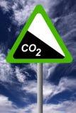 Dióxido de carbono Imagens de Stock