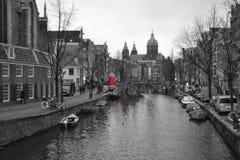 Di Άμστερνταμ Canali στοκ εικόνες