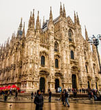 Di Μιλάνο Duomo Στοκ Εικόνες