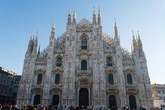 Di Μιλάνο Duomo Στοκ φωτογραφία με δικαίωμα ελεύθερης χρήσης
