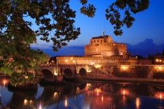 Di Ρώμη του Angelo castel Στοκ Φωτογραφία
