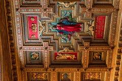 Di Σάντα Μαρία βασιλικών σε Trastevere, Ρώμη, Ιταλία Στοκ εικόνα με δικαίωμα ελεύθερης χρήσης