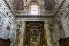 Di Σάντα Μαρία βασιλικών σε Trastevere, Ρώμη, Ιταλία Στοκ Φωτογραφίες