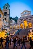 Di Амальфи Duomo в Италии стоковое изображение
