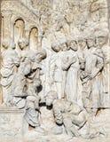 Di Павия Италия Certosa, историческая церковь стоковые фотографии rf