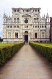Di Павия Certosa мать 2 изображения дочей цвета стоковое изображение