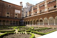 Di Павия Certosa стоковое изображение rf