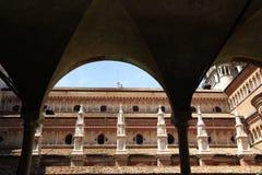 Di Павия Certosa стоковое изображение