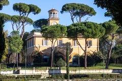 Di Сиена аркады, вилла Borghese садовничает, Рим Стоковое фото RF