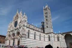 Di Сиена собора или Duomo Сиены Стоковые Фотографии RF