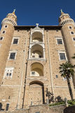 Di Урбино Palazzo Дукале Стоковые Изображения