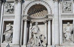 di фонтан trevi стоковое изображение rf