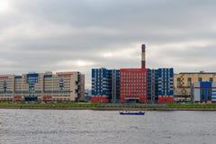 ` Di Almaz-Antey del ` di area d'interesse e del fabbricato industriale VKO Immagini Stock