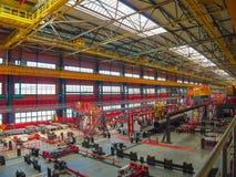 ` Di altezza 239 del ` della fabbrica della metropolitana Fotografia Stock