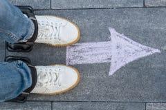 Di andata veloce Gambe calzate nelle ruote Fotografia Stock Libera da Diritti