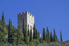 Di Arco Castello σε Trentino Στοκ φωτογραφίες με δικαίωμα ελεύθερης χρήσης