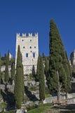 Di Arco Castello σε Trentino Στοκ εικόνες με δικαίωμα ελεύθερης χρήσης