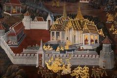 Di arti della Tailandia Immagine Stock Libera da Diritti