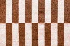 di bande colorate Multi sul tessuto Stile peruviano tradizionale variopinto, superficie della coperta del primo piano fotografie stock